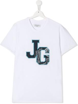 John Galliano Teen logo-print T-shirt