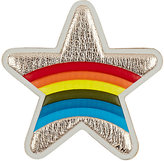 Anya Hindmarch Women's Star Rainbow Sticker-GOLD, NO COLOR
