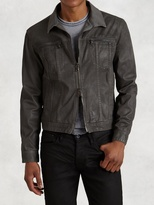 John Varvatos Denim Style Zip Jacket