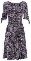 Wallis Petite Multi Coloured Fit and Flare Dress