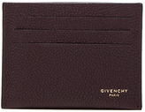 Givenchy Leather Double Cardholder