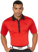Puma HBone Stripe Polo