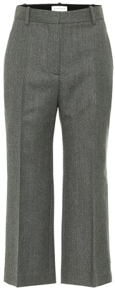 Victoria Beckham Cropped wool pants