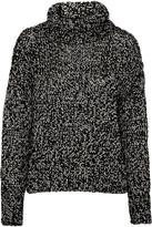 Rag & Bone Sandra Metallic Wool-blend Sweater - Black