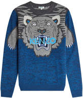 Kenzo Embroidered Knit Pullover