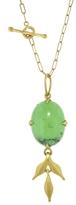 Cathy Waterman Green Turquoise Flexible Wheat Charm