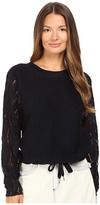 See by Chloe Lacy Jersey with Drawstring Accents Women's Clothing
