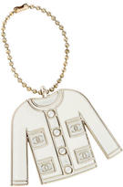 Chanel Pearl Jacket Keychain