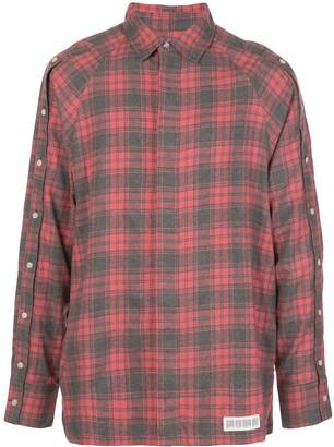 Mostly Heard Rarely Seen Button Down-Sleeve Shirt