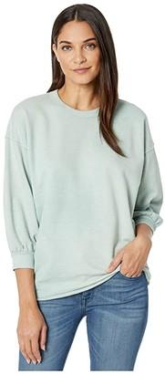 AG Jeans Orson Sweatshirt (Vintage Fresh Seafoam) Women's Clothing