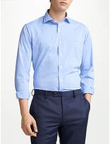 Polo Ralph Lauren Performance Twill Check Shirt, Cabana Blue/White