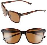 Smith Optics Women's 'Colette' 55Mm Chromapop(TM) Polarized Sunglasses - Black/ Polarized Grey Green