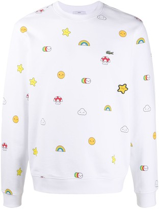 Lacoste x Friends With You sweatshirt