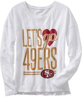 "Old Navy Women's NFL® ""Let's Go"" Team Tees"