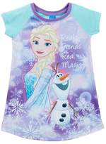 AME Frozen Elsa & Olaf Real Friends Real Magic Nightgown (Little Girls & Big Girls)