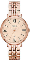 Fossil Ladies Stainless Steel Jacqueline Watch