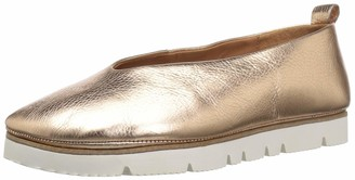 Gentle Souls by Kenneth Cole Women's Demi Slip On Flat with White EVA Bottom Ballet