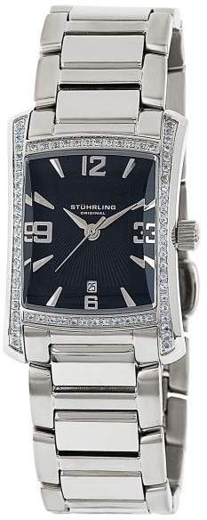 Stuhrling Original Gatsby High Society II 145TS.12111 Stainless Steel 23mm x 29mm Watch