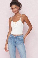 Garage Front Lace-Up Cami