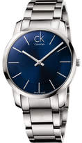 Calvin Klein Gents Blue Dial Bracelet Watch