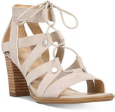 Naturalizer London Lace-Up Block-Heel Sandals