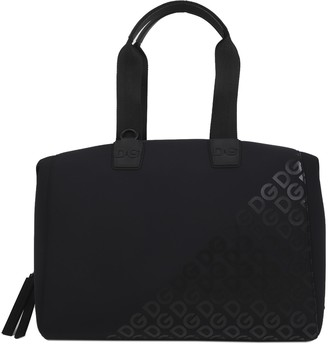 Dolce & Gabbana Black Neoprene Millennials Bag