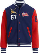 Ralph Lauren Polo Bear Baseball Jacket