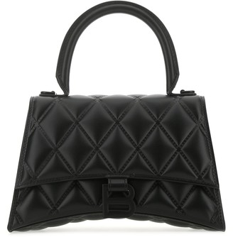 Balenciaga Hourglass Quilted Small Shoulder Bag
