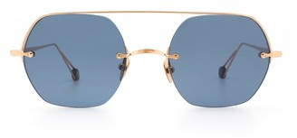 AHLEM Place Casadesus Rose Gold Sunglasses