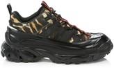 Burberry Arthur Leopard-Print Chunky Sneakers