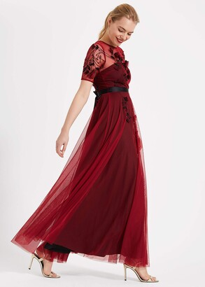 Phase Eight Anna Embroidered Maxi Dress