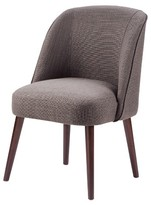 Nobrand No Brand Oda Rounded Back Dining Chair - Charcoal