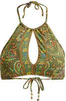 Polo Ralph Lauren Paisley-Print Bikini Top