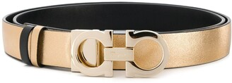 Salvatore Ferragamo reversible Gancini buckled belt