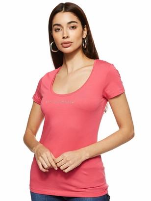 Emporio Armani Women's Visibility-Basic Cotton T-Shirt