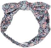 Maison Michel floral print headband