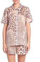 Natori Exotic Animal Print Short Pajamas