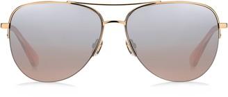 Kate Spade Maisie 60mm Gradient Aviator Sunglasses