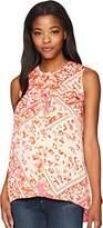 Lucky Brand Women's Embriodered Top