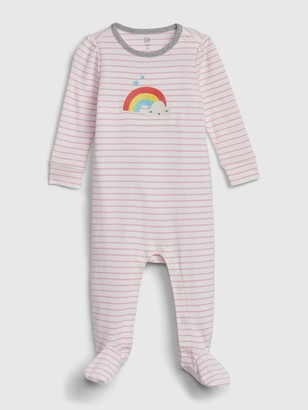 Gap Baby Rainbow Footed One-Piece