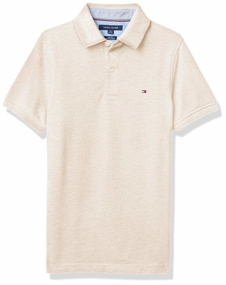 Tommy Hilfiger mens Men's Short Sleeve Stretch in Slim Fit Polo Shirt