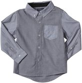 Andy & Evan Chambray Shirt (Toddler/Kid) - Black-6 Years