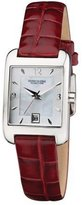 Kenneth Cole Reaction Kenneth Cole Women's KC2444 Reaction Burgundy Leather Watch
