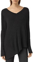 AllSaints Keld Merino Wool V-Neck Sweater