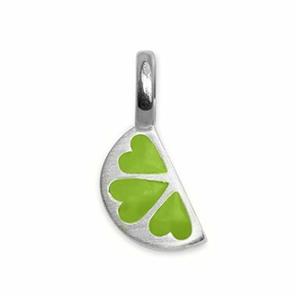 Alex Woo Sterling Silver Mini Addition Lime Charm