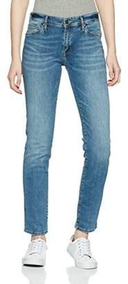 Cross Women's Anya Slim Jeans, (Light Mid Blue 123), 28W x 32L