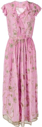 Ashish Embroidered Short Sleeve Dress