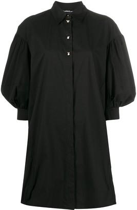 Pinko Balloon Sleeve Shirt Dress