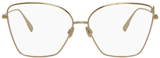 Christian Dior Gold DiorSignature1 Glasses
