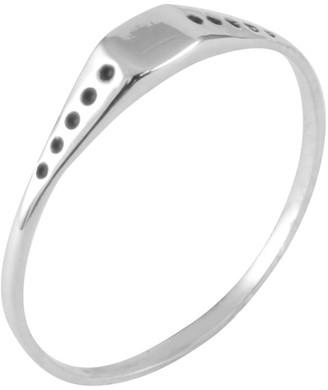 Lee Renee Square Shield Mini Signet Ring